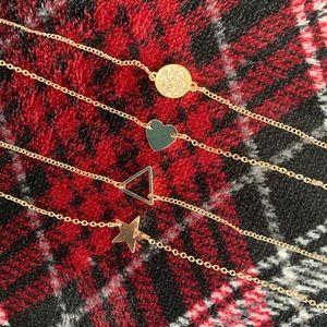 5/$25 *FINAL PRICE* NWOT 4 Dainty Bracelets 🔅